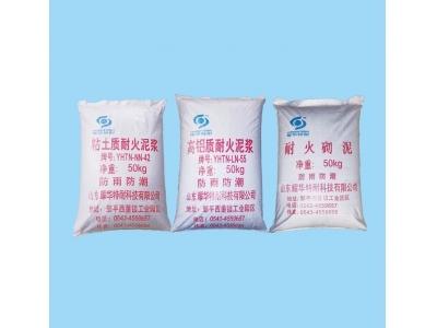 耐火胶泥系列产品(砌砖泥)